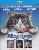 Nine Lives (Blu-ray + DVD + UltraViolet) Blu-ray