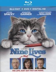 Nine Lives (Blu-ray + DVD + UltraViolet) Blu-ray