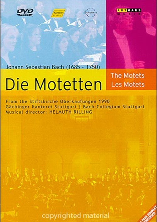 J.S. Bach: Die Motetten (The Motets) Movie
