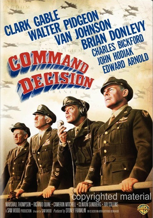 Command Decision Movie