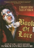 Book Of Lore / Grave Mistake (Double Feature) Movie
