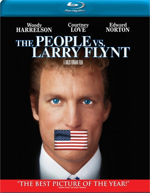 People Vs. Larry Flynt, The Blu-ray