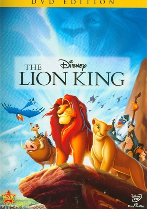 Lion King, The: Diamond Edition (DVD 1994) | DVD Empire