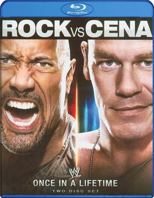 WWE: Rock Vs. John Cena - Once In A Lifetime Blu-ray