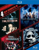 4 Film Favorites: Final Destination Collection Blu-ray