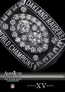 NFL Americas Game: 1980 Oakland Raiders Super Bowl XV Movie