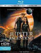 Jupiter Ascending (4K Ultra HD + Blu-ray + UltraViolet) Blu-ray