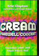 Cream: Farewell Concert Movie