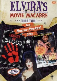 Elviras Movie Macabre: Legacy Of Blood / The Devils Wedding Night Movie