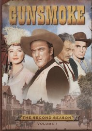 Gunsmoke: The Second Season - Volume One Movie