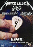 Metallica / Slayer / Megadeth / Anthrax: The Big 4 - Live From Sofia, Bulgaria Movie