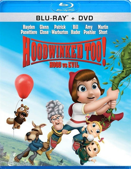 Hoodwinked Too!: Hood Vs. Evil (Blu-ray + DVD Combo) Blu-ray