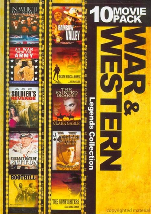 War & Westerns: Legends Collection (10 Pack) Movie