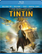 Adventures Of Tintin 3D, The (Blu-ray 3D + Blu-ray + DVD+ Digital Copy) Blu-ray