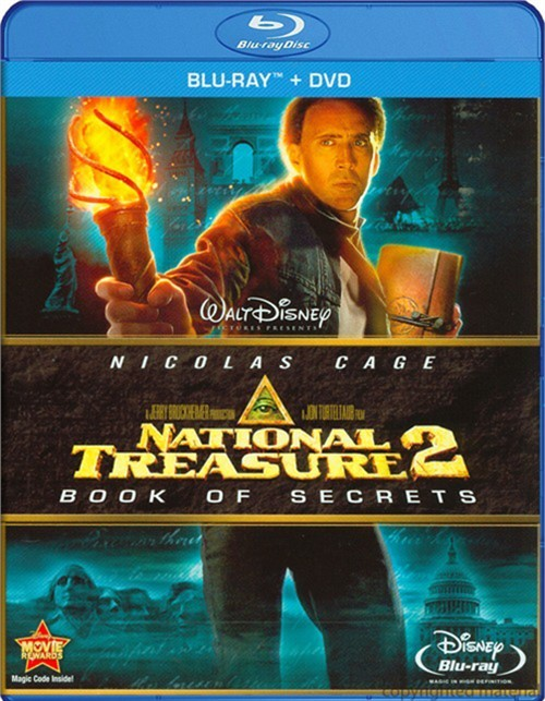 National Treasure 2: Book Of Secrets (Blu-ray + DVD) Blu-ray