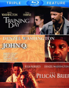 John Q / The Pelican Brief / Training Day (Triple Feature) Blu-ray