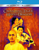 Crouching Tiger Hidden Dragon (4K Ultra HD + Blu-ray + UltraViolet) Blu-ray