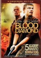 Blood Diamond (Widescreen) Movie