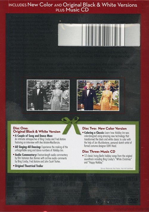 Holiday Inn: 3 Disc Collector's Set (DVD 1942)