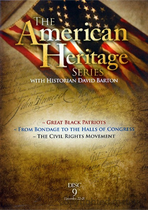American Heritage Series: Great Black Patriots / From Bondage To The Halls Of Congress / The Civil Rights Movement Movie