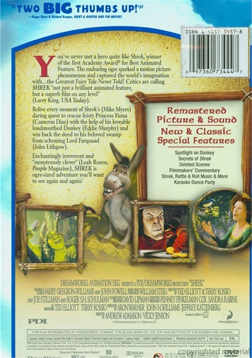 Shrek 2 Widescreen Dvd Pictures To Pin On Pinterest