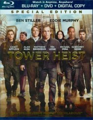Tower Heist (Blu-ray + DVD + Digital Copy + UltraViolet) Blu-ray