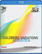 Bach: Goldberg Variations Acoustica 3D Blu-ray