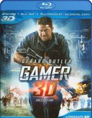 Gamer 3D (Blu-ray 3D + Blu-ray + UltraViolet) Blu-ray