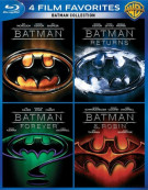 4 Film Favorites: Batman Collection Blu-ray