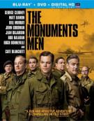 Monuments Men, The (Blu-ray + DVD + UltraViolet) Blu-ray