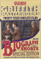 Biograph Shorts: Griffith Masterworks Movie