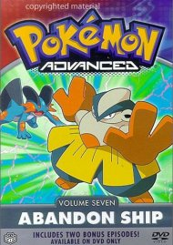 Pokemon Advanced: Volume 7 - Abandon Ship Movie