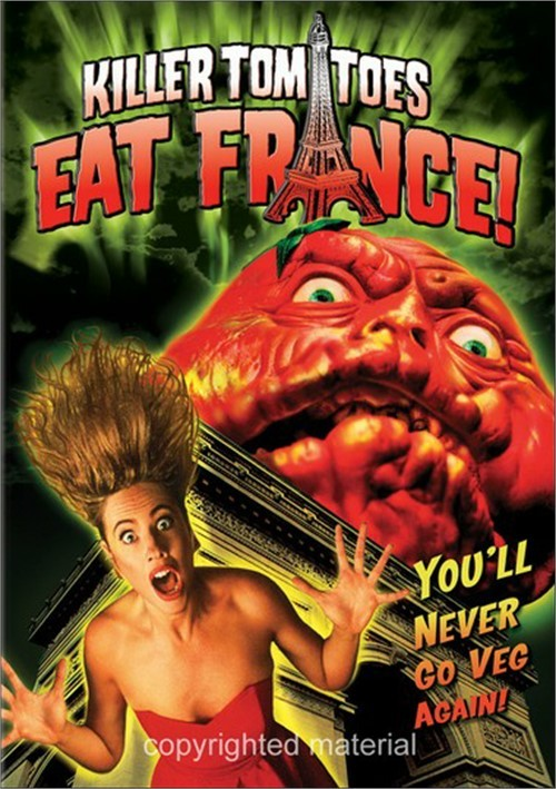 Killer Tomatoes Eat France! Movie