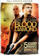 Blood Diamond (Fullscreen) Movie