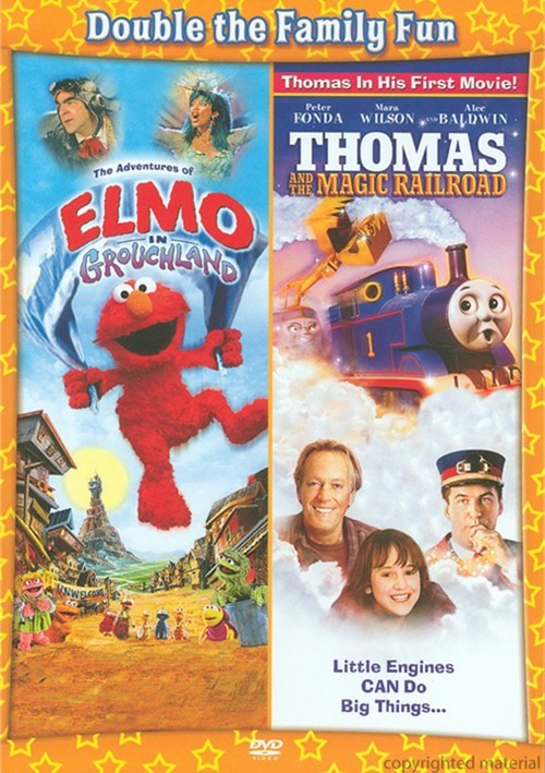 Adventures Of Elmo In Grouchland / Thomas And The Magic ...