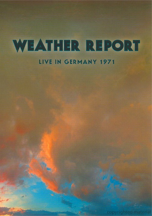 Weather Report: Live In Hamburg 1971 Movie
