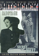 Sabotage / Secret Agent: Alfred Hitchcock Movie