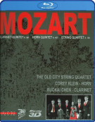 Mozart: Clarinet Quintet, Horn Quintet, And String Quartet 3D Blu-ray