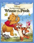 Many Adventures Of Winnie The Pooh, The (Blu-ray + DVD + Digital Copy) Blu-ray