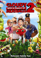Cloudy With A Chance Of Meatballs 2 (DVD + UltraViolet) Movie