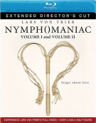 Nymphomaniac: Extended Directors Cut - Volume 1 & 2 Blu-ray