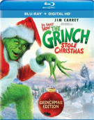 Dr. Seuss How The Grinch Stole Christmas (Blu-ray + UltraViolet) Blu-ray