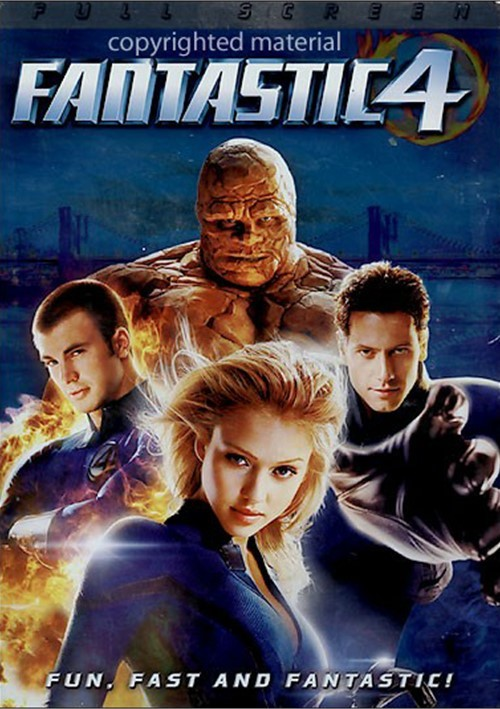Fantastic Four (Fullscreen) Movie