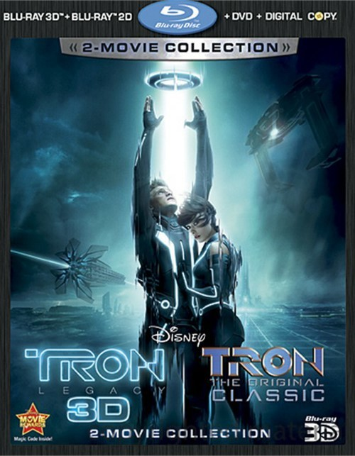 Tron: Legacy 3D / Tron: The Original Classic (Blu-ray 3D +Blu-ray + DVD + Digital Copy) Blu-ray