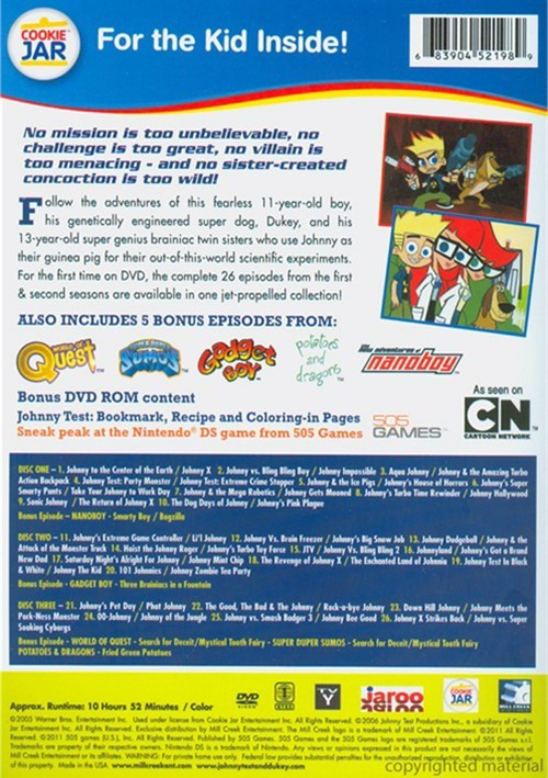 Johnny Test Dvd Empire Pictures to Pin on Pinterest  PinsDaddy