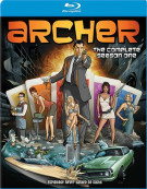 Archer: The Complete Season One Blu-ray
