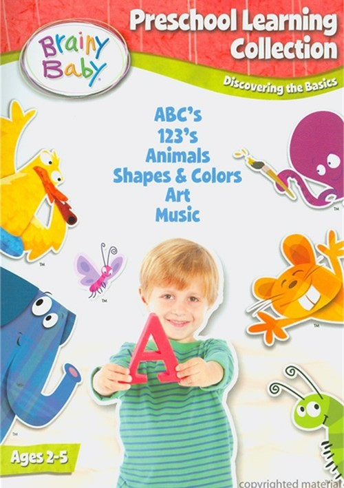 Brainy Baby: Preschool Learning Collection - Deluxe Edition Movie