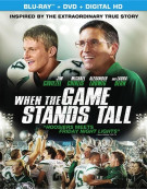 When The Game Stands Tall (Blu-ray + DVD + UltraViolet) Blu-ray
