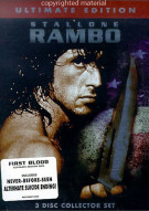 Rambo: 3 Disc Collectors Set - Ultimate Edition Movie