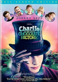 Charlie And The Chocolate Factory (Fullscreen) Movie